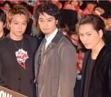 左から)TAKAHIRO、斎藤工、登坂広臣 (C)ORICON NewS inc.