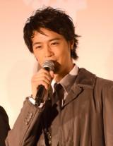 映画『HiGH&LOW THE RED RAIN』初日舞台あいさつに出席した斎藤工 (C)ORICON NewS inc.