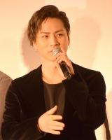 映画『HiGH&LOW THE RED RAIN』初日舞台あいさつに出席した登坂広臣 (C)ORICON NewS inc.