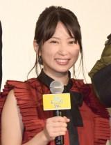 映画『グッドモーニングショー』初日舞台あいさつに登壇した志田未来 (C)ORICON NewS inc.