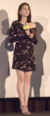 映画『グッドモーニングショー』初日舞台あいさつに登壇した長澤まさみ (C)ORICON NewS inc.