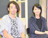 舞台『メトロポリス』の取材会に出席した(左から)森山未來、松たか子 (C)ORICON NewS inc.