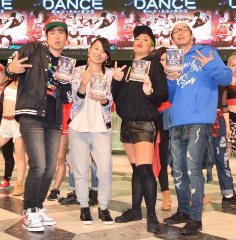 映画『ボーン・トゥ・ダンス』のDVD発売記念イベントの模様 (C)ORICON NewS inc.
