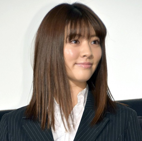 映画『インターン!』完成披露舞台あいさつに出席した岡本杏理 (C)ORICON NewS inc.