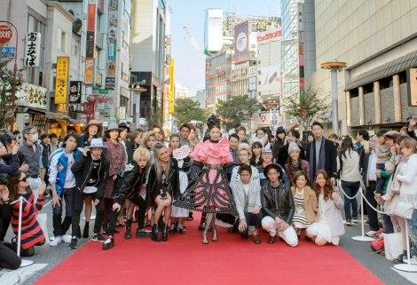 サムネイル 昨年行われた『渋谷ファッションウイーク』のもよう