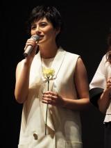 TBS系ドラマ『砂の塔 知りすぎた隣人』に出演するホラン千秋(C)ORICON NewS inc.