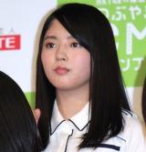 『HKT48vs欅坂46 つぶやきCMグランプリ』開催発表記者会見を行った欅坂46・鈴本美愉 (C)ORICON NewS inc.