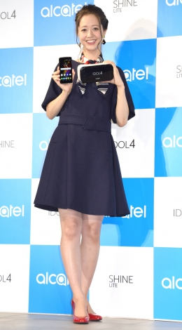 『Alcatel』の新製品発表会に出席した春香クリスティーン (C)ORICON NewS inc.
