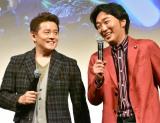 スピードワゴン(左から)井戸田潤、小沢一敬 (C)ORICON NewS inc.