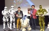 『レゴ(R)スター・ウォーズ/フォースの覚醒』発売記念イベントの模様 (C)ORICON NewS inc.