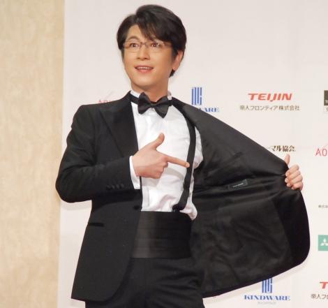 『第17回 ベストフォーマリスト賞 2016』授賞式に出席した及川光博 (C)ORICON NewS inc.