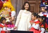 『映画魔法つかいプリキュア!奇跡の変身!キュアモフルン!』のテーマソングお披露目イベントに出席したAKB48・渡辺麻友 (C)ORICON NewS inc.