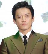 映画『ミュージアム』のジャパンプレミアに出席した小栗旬 (C)ORICON NewS inc.
