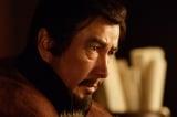 NHK大河ドラマ『真田丸』第35回より。密室で向かい合う昌幸、信幸、信繁(C)NHK