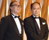 主演映画アピールしたトレンディエンジェル(左から)たかし、斎藤司 (C)ORICON NewS inc.