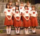舞台『墓場、女子高生』公開ゲネプロに出席した乃木坂46 (C)ORICON NewS inc.