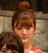 舞台『墓場、女子高生』公開ゲネプロに出席した乃木坂46樋口日奈 (C)ORICON NewS inc.