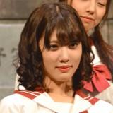 舞台『墓場、女子高生』公開ゲネプロに出席した乃木坂46伊藤純奈 (C)ORICON NewS inc.