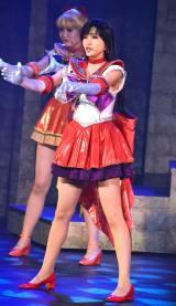 セーラーマーズ(小林かれん)=ミュージカル『美少女戦士セーラームーン-Amour Eternal-』ゲネプロ (C)ORICON NewS inc.