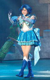 セーラーマーキュリー(竹内夢)=ミュージカル『美少女戦士セーラームーン-Amour Eternal-』ゲネプロ (C)ORICON NewS inc.