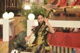 11月3日放送、NHK総合音楽特番『ももクロ和楽器レボリューションZ』で津軽三味線のソロ演奏に挑戦した玉井詩織(C)NHK