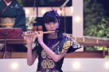 11月3日放送、NHK総合音楽特番『ももクロ和楽器レボリューションZ』で篠笛のソロ演奏に挑戦した高城れに(C)NHK