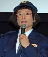 『よしもと新喜劇映画商店街戦争〜SUCHICO〜』舞台あいさつに登壇したすっちー (C)ORICON NewS inc.