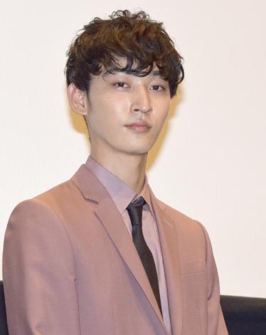 映画『A.I. love you』舞台あいさつに登壇した上杉柊平 (C)ORICON NewS inc.
