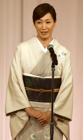 『京都国際映画祭2016』クロージングセレモニーであいさつする高島礼子 (C)ORICON NewS inc.