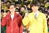映画『金メダル男』公開直前起爆イベントに出席した(左から)木村多江、内村光良 (C)ORICON NewS inc.