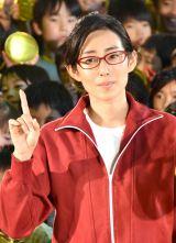 映画『金メダル男』公開直前起爆イベントに出席した木村多江