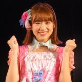 『仲川遥香、ありがとうを伝えに来ました。with JKT48』終演後の囲み取材に応じた仲川遥香 (C)ORICON NewS inc.