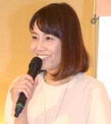 第2子出産を報告した吉井歌奈子アナウンサー (C)ORICON NewS inc.