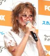 BSスカパー!特別番組『ボイス・オブ・ウォーキング・デッド』PRイベントに出席した鈴木奈々 (C)ORICON NewS inc.