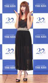 ペアジュエリーブランド『THE KISS』新CM発表会に出席した藤田ニコル (C)ORICON NewS inc.