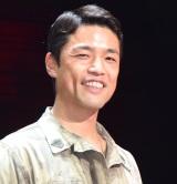 ミュージカル『ミス・サイゴン』初日公演前の囲み取材に出席した上野哲也 (C)ORICON NewS inc.
