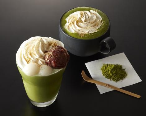 サムネイル タリーズから、京都エリア限定の贅沢な宇治抹茶メニューが登場