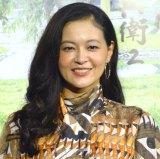 NHK BSプレミアム・時代劇『子連れ信兵衛2』の試写会に登壇した黒谷友香 (C)ORICON NewS inc.
