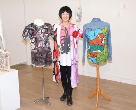 雑貨や洋服のデザイン商品を展示する企画アドバイザーを担当した (C)ORICON NewS inc.
