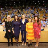 ワンダーウーマン国連名誉大使記念式典の模様