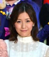 映画『魔法つかいプリキュア!キュアモフルン!』完成披露クマプレミアムイベントに出演した渡辺麻友 (C)ORICON NewS inc.
