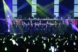 欅坂46のステージの模様