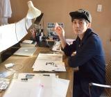 「おもしろ絵本作家」になったキングコング・西野亮廣の自宅兼アトリエでインタビュー (C)ORICON NewS inc.