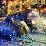 絵本『えんとつ町のプペル』(幻冬舎)のカット画像