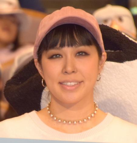 アニメーション映画『コウノトリ大作戦!』公開直前舞台あいさつに出席したAI (C)ORICON NewS inc.