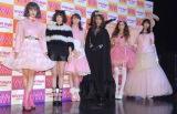 『ViVi Night 2016 TOKYO』取材会に出席した(左から)emma、玉城ティナ、トリンドル玲奈、マギー、河北麻友子、八木アリサ (C)ORICON NewS inc.