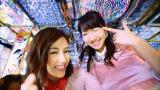 AKB48の46thシングル「ハイテンション」MVに出演する(左から)渡辺麻友、柏木由紀