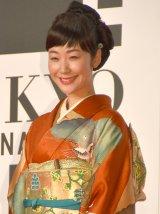 『第29回東京国際映画祭』(TIFF)オープニング・レッドカーペットに出席した黒木華 (C)ORICON NewS inc.