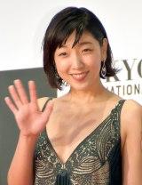『第29回東京国際映画祭』(TIFF)オープニング・レッドカーペットに出席した安藤サクラ (C)ORICON NewS inc.
