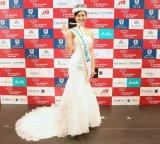 ミス・インターナショナル日本代表に東京出身の23歳セラピスト・筒井菜月さん